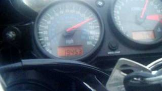 10. top speed run on ninja 600 (zx6r)