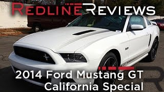 2014 Ford Mustang GT California Special Review, Walkaround, Exhaust, Test Drive