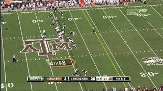 Sean Porter vs Oklahoma State (2011)