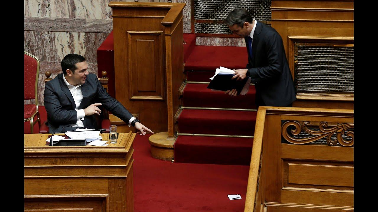 «Μάχη» στη Βουλή για την ψήφο εμπιστοσύνης