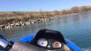 5. Kawasaki ULTRA 250X 2008  Water Test