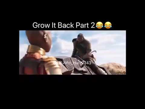 Grow It Back Part 2 Black Panther Funny Video
