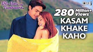 Video Kasam Khake Kaho - Dil Hai Tumhaara | Preity, Arjun & Mahima | Alka Yagnik & Kumar Sanu MP3, 3GP, MP4, WEBM, AVI, FLV Agustus 2018