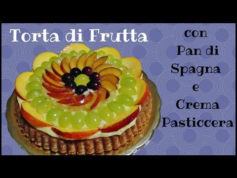 crostata di frutta gustosa, deliziosa e facile. da provare!