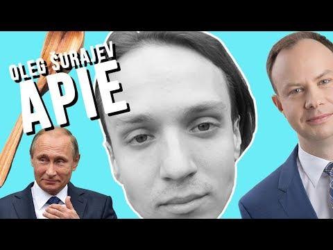 OLEG SURAJEV APIE: Kaziuko mugę, kovą su alkoholiu, Putiną.
