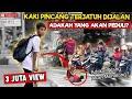 Video REAKSI Masyarakat Melihat Orang Kaki Patah Terjatuh Di Jalan - Sosial Eksperimen Indonesia