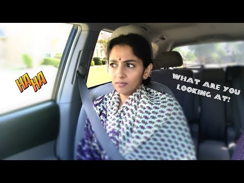 Husband And Wife In The Car | Sailaja Talkies