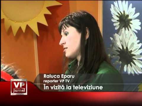 În vizită la televiziune