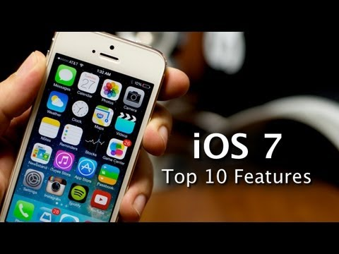 features - The 10 Best Features Of iOS 7 Tweet This Video! http://clicktotweet.com/r6b9g 1: Control Center 2: Auto App Updates 3: Unlimited Apps In Folders 4: Air Drop ...