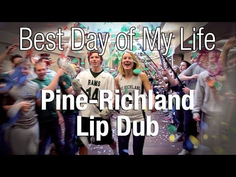 Pine Richland lip dub to 'Best Day of My Life' by American Authors