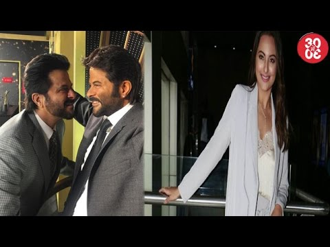 Anil Kapoor Unveils His Wax Statue | Sonakshi On J
