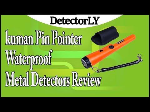 kuman Pin Pointer Waterproof Metal Detectors Review