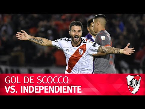 Gol de Nacho Scocco vs. Independiente