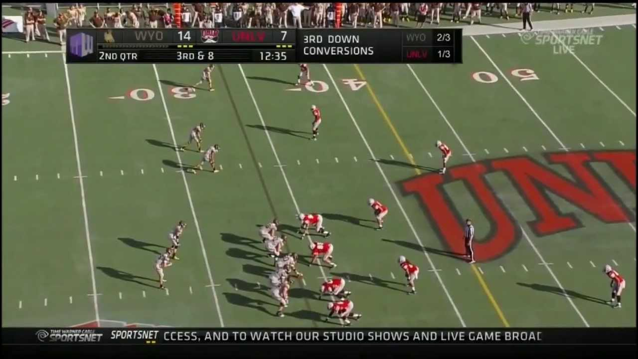 Brett Smith vs UNLV (2012)
