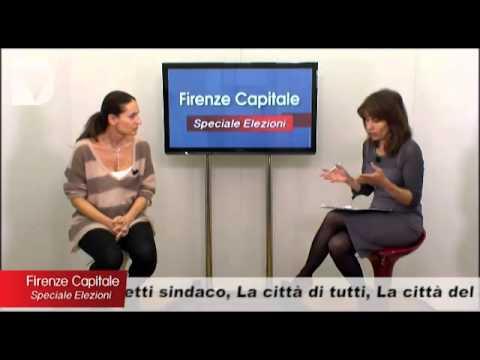 La candidata a sindaco Cristina Scaletti ospite di Firenze capitale speciale elezioni, condotta da Elisabetta Matini.