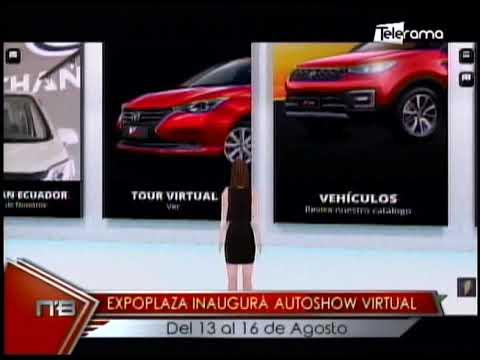 Expoplaza inaugurá Autoshow virtual del 13 al 16 de Agosto
