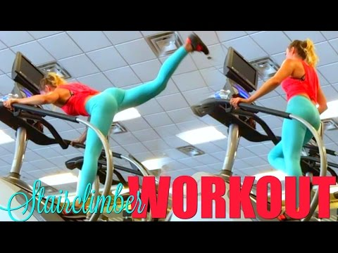 FULL 30 MINUTE STAIRCLIMBER INTERVAL WORKOUT