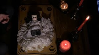 "After playing with the Ouija Board alone next to Doll last night, the doll now seems to possessed by a demon. Tim investigates the Doll for paranormal activity as the doll now seems to be possessed by the ouija demon Oz.   What paranormal events will be caught on tape as Tim investigates this haunted doll live ? Please hit the ""like"" button and subscribe!"