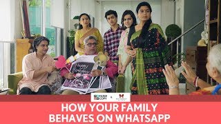 Video FilterCopy | How Your Family Behaves On WhatsApp | Ft. Rohan Shah MP3, 3GP, MP4, WEBM, AVI, FLV Oktober 2018