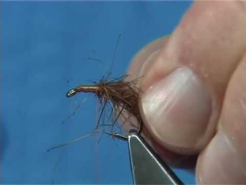 nymph - Tying a Caddis Nymph Pupa by Davie McPhail.