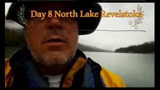 Day 8 of my 11 day trip. Johns Columbia River Trip 2016 paddling North Lake Revelstoke. Rained most of the day but no wind so it made for great paddling. Fou...