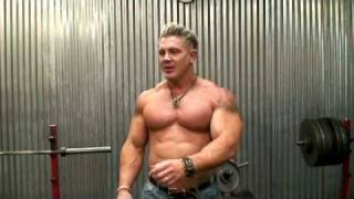 Andy Haman tryout video for new TV show including 600 lb bench press.