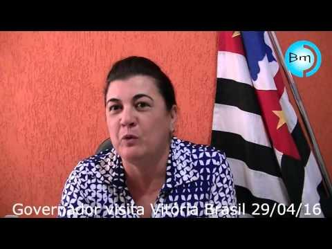 Vitória Brasil - Governador visita Vitória Brasil nesta sexta-feira 29/04