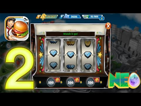 Cooking Fever: Gameplay Walkthrough Part 2 - Fast Food Court Level 6-10 (iOS, Android)