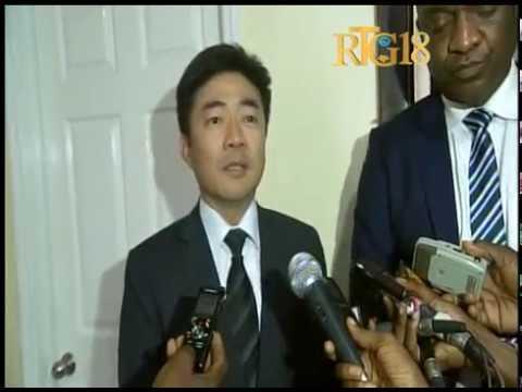 L'Ambassadeur de Chine Taiwan, Guillaume Cheng-hao Hu a visité le parlement haïtien