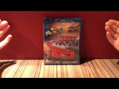 Unboxing of Cars Blu-ray (Disney Blu-ray Update)