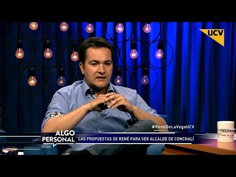 "video René de la Vega: ""Yo sé que voy a ser alcalde de Conchalí"""