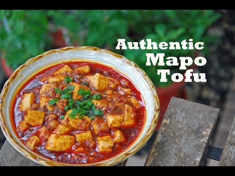 How To Make Authentic Chinese Mapo Tofu (麻婆豆腐)
