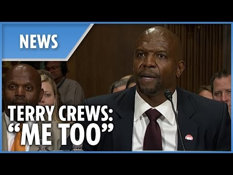 Terry Crews emotionally recalls sexual assault before the US Senate
