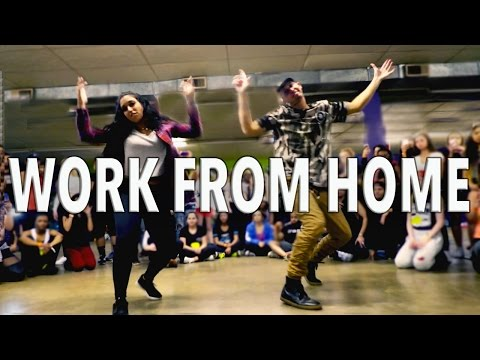 WORK FROM HOME - Fifth Harmony ft Ty Dolla $ign | @MattSteffanina Choreography