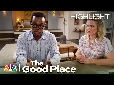The Good Place - Eleanor Shows Chidi the Sex Tape (Episode Highlight)