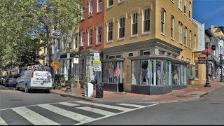 Washington D.C. United States  city images : Driving Downtown - Georgetown - Washington DC USA