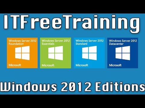 Windows 2012 Editions