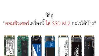 วิธีดู คอมพิวเตอร์เครื่องนี้ ใส่ SSD M.2 อะไรได้บ้าง | ปลาสวรรค์