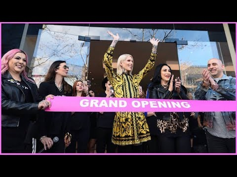 WE SHUT DOWN THE ENTIRE MALL!!  THE JEFFREE STAR DIARIES