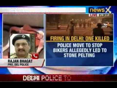 Video News X: One Biker shot dead and another injured in Delhi download in MP3, 3GP, MP4, WEBM, AVI, FLV January 2017