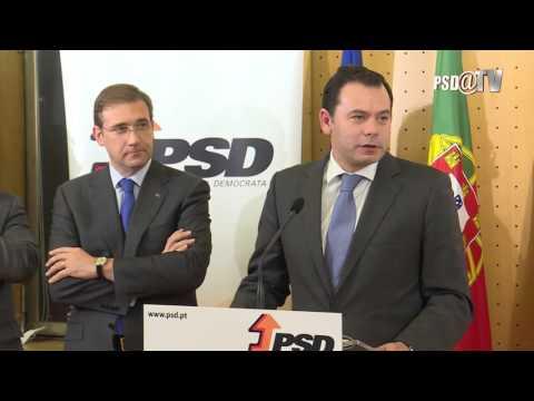Intervenção de Luís Montenegro, Presidente do Grupo Parlamentar do PSD, no lanche do GP/PSD.