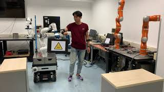 A MObile Collaborative Robot Assistant for conjoined huMAN-robot actions