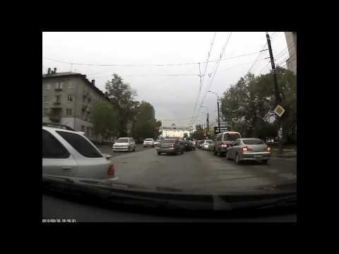 Авария из 4 машин в Чебоксарах