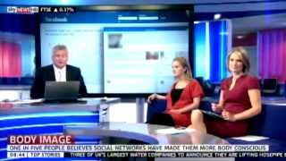 Laura Williams on Sky News discussing body image and social media