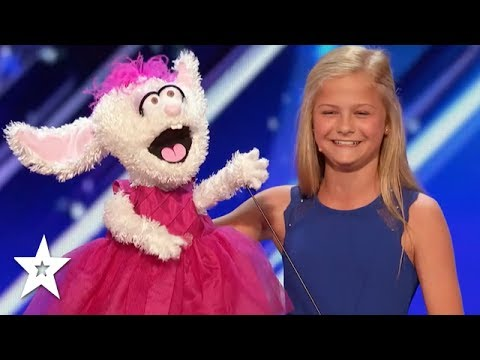 DARCI LYNEE Wins 1st GOLDEN BUZZER On America's Got Talent 2017!