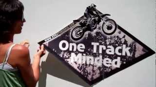 Watch this simple video on how to easily apply an awesome motocross decal. Visit us at www.StrutYourRV.com