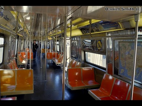 Westinghouse R68 (N) Train: Coney Island To Astoria-Ditmars Blvd (Full Route) (видео)