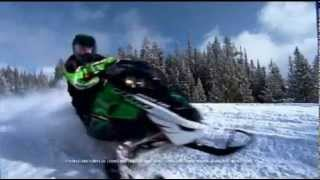 8. 2008 Arctic Cat F-series Snowmobiles
