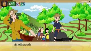 สื่อการเรียนการสอน อ่านในใจบทเรียนเรื่อง ธรรมชาตินี้มีคุณ ป.4 ภาษาไทย