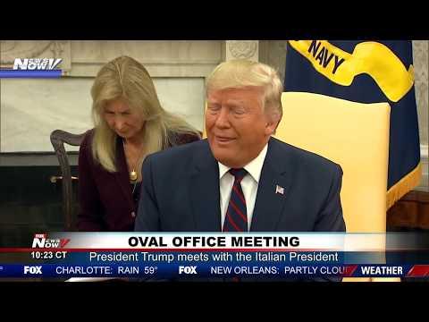 "Video - Χαμός στη συνάντηση Τραμπ - Ματαρέλα: ""Πάγωσε"" η μεταφράστρια - Τι συνέβη"